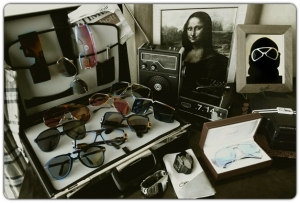 The first LuxuryVintageSunglasses' homepage.