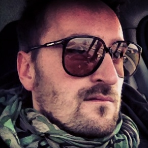 Dario Nopron in Persol RATTI Huge.