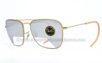 Ray Ban Caravan Arista ELICOPTER 1/4 Mirrored 58 mm by B&L
