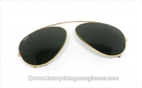Ray Ban Aviator 62mm CLIP ON G-15 B&L