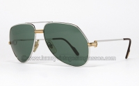 Cartier Vendome Louis Platin 59 mm CC Logo lens