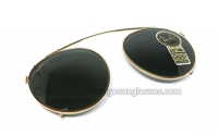 Ray Ban Round 50 mm CLIP ON G-15 B&L