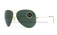 Ray Ban Aviator Large 3 64mm G-15
