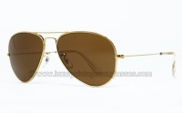 Ray Ban AVIATOR 56mm GOLD