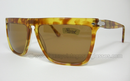 a0b9e54303 Persol RATTI 801 52 col 78  Vintage Sunglasses with patented -meflecto-  system.