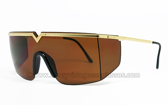 f1124bbd17545 GIANNI VERSACE S 90 col. 04M  original vintage sunglasses mask made in  Italy 1986