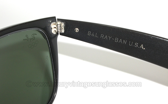 Ray Ban Wayfarer II Olympic series by B amp L  Vintage Sunglasses by    Bausch And Lomb Ray Ban Wayfarer