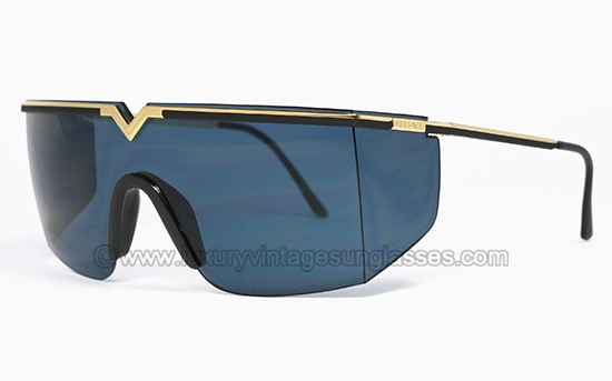 13d9eac79e0fa GIANNI VERSACE S 90 col. 09M  original vintage sunglasses mask made in  Italy 1986
