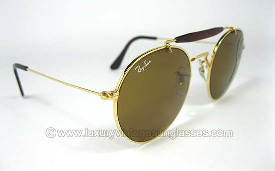 vintage ray ban sunglasses  Luxury vintage Sunglasses - Details of ray-ban-round-aviator-by-bl