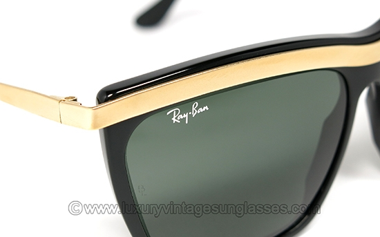 511b7f0732f Luxury vintage Sunglasses - Details of ray-ban-olympian-iii-black-