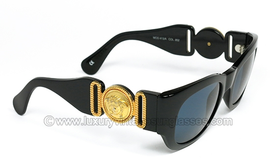 00c6642f5bfe GIANNI VERSACE 413 A col 852  Original Vintage Sunglasses worn by Notorious  B.I.G.