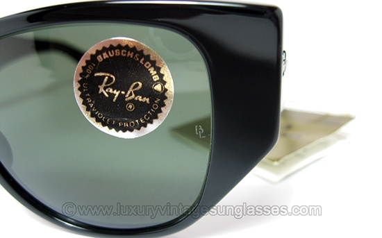 5ab8ee2f2e Ray Ban CABALLERO Black by B L  RARE Vintage Sunglasses made in U.S.A.