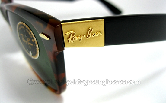 ray ban wayfarer limited edition sunglasses  ray ban wayfarer ii limited by b&l: vintage sunglasses made in u.s.a. in the '80s.