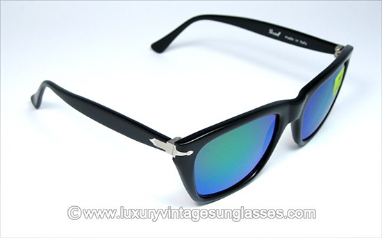 bc4e44f9d0d67 Persol RATTI Sport 40401 Green Mirrored  Sunglasses made with patented  materials.