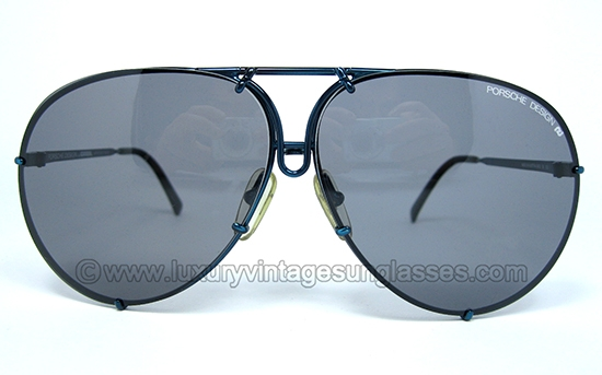 Vintage Porsche Sunglasses  luxury vintage sunglasses details of porsche 5623 blue metallic