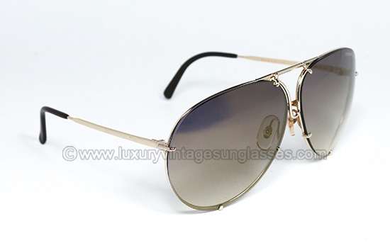 34be07f441cc2 Porsche 5623 66 mm GOLD MIRRORED  Original Sunglasses made in Austria in  the  80s.