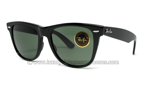 where is ray ban sunglasses made  Luxury vintage Sunglasses - Details of ray ban wayfarer ii ebony by b