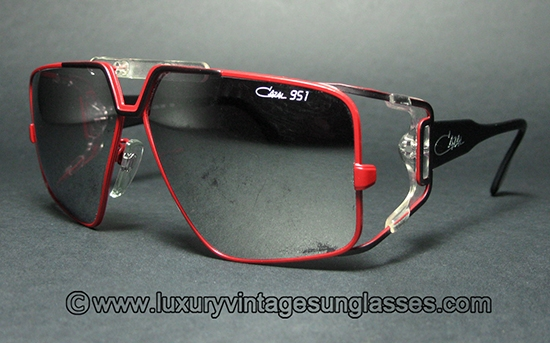 Luxury Vintage Sunglasses Details Of Cazal 951 West Germany Col