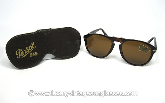 f9db708517a6a Persol RATTI Italy 649 5 col 24 (X-Large)  Vintage Sunglasses with -meflecto-  system.