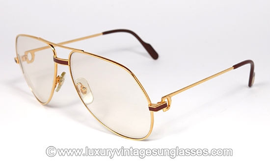 Luxury vintage Sunglasses - Details of cartier-vendòme-laque ...