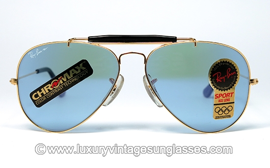 0c0f54e7af0b Ray Ban Outdoorsman Sport ACE-30 58 mm by B&L: Vintage-Sunglasses made in  USA.