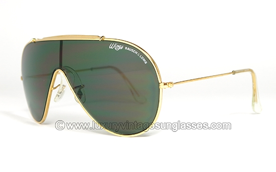 Luxury Vintage Sunglasses Details Of Ray Ban Wings G 15