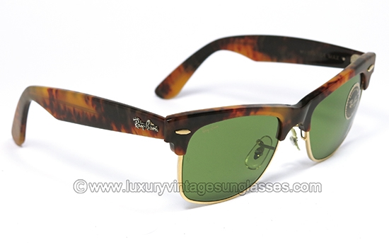 vintage ray ban wayfarer  ray ban wayfarer max blond tortoise rb 3: vintage sunglasses made in u.s.a.