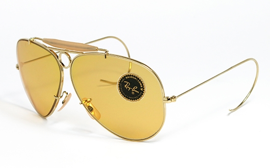 Ray Ban Shooter Ambermatic 62 mm BY B L  Vintage Sunglasses, by Bausch-Lomb. 7e1eca1690ba