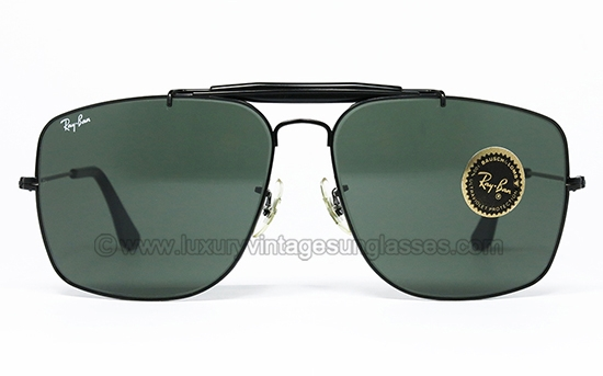 49419d4795 Ray Ban EXPLORER Black G-15 BL  original vintage sunglasses made in U.S.A.  1988 by B L