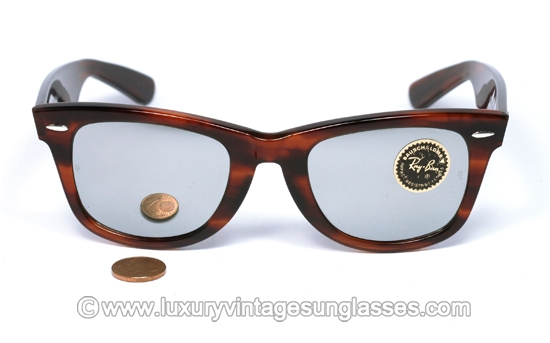 ray ban wayfarer lenses dd3f  Ray Ban Wayfarer I mirrors by Bausch Lomb: Original Vintage Sunglasses made  in USA