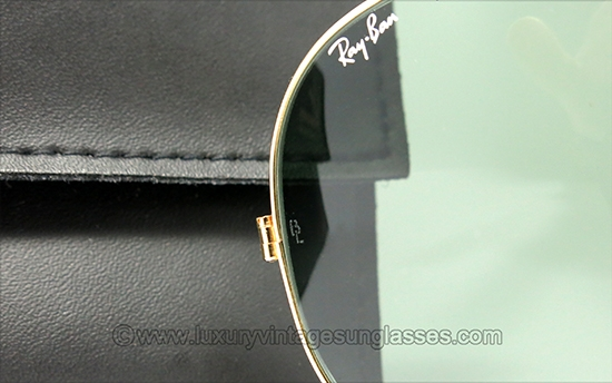 50d1ef903489b Ray Ban 75th Anniversary 22 Carat Gold Plated Folding Aviators ...