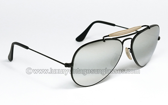 e80150d208 Ray Ban Outdoorsman Full Mirror 58 mm by B L  original vintage sunglasses  from  80s made in U.S.A.