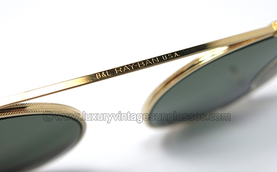 3e3094e88e3ee6 ... purchase ray ban round 50 mm clip on g 15 bl original vintage sunglasses  from 80s