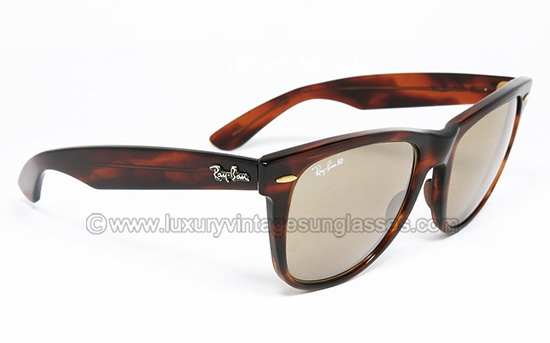 ff2d167ee46d Ray Ban WAYFARER II 50th RB-50 Bausch e Lomb : Original Vintage Sunglasses  made in U.S.A. 1990 by B&L